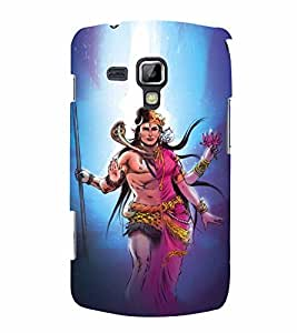 Lord Shiva Parvati 3D Hard Polycarbonate Designer Back Case Cover for Samsung Galaxy S Duos 2 S7582