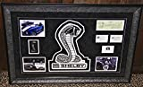 Carroll Shelby signed autographed check AC COBRA display business card PSA DNA
