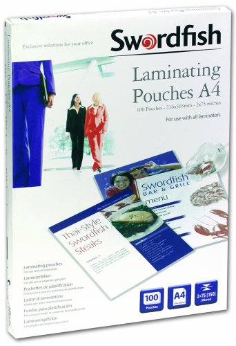 swordfish-a4-2x75-150-micron-laminating-pouches-box-of-100-ref-48017