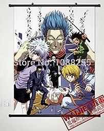 Anime family Anime HUNTERXHUNTER Home Decor Poster Wall Scroll