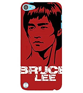 Evaluze bruce lee Printed Back Case Cover for APPLE IPOD TOUCH 5