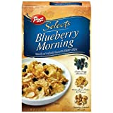 Post Selects Blueberry Morning Cereal, 13.5 oz (Pack of 6)