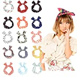 Wowlife 5/10 Pcs Wire Headband Girls Women Multi-function Bunny Rabbit Ear Hair Band Head band Sweet Multi-styles Headband Head-tie Twist,Assorted Color (10 Pcs)