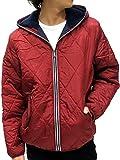 (コンバース) CONVERSE 中綿ジャケット メンズ アウター ジャケット パーカー 裏ボア 4color M レッド