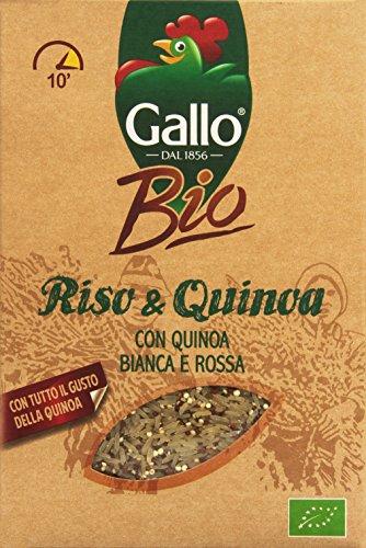 Gallo - Bio, Riso & Quinoa Bianca e Rossa, 400 g