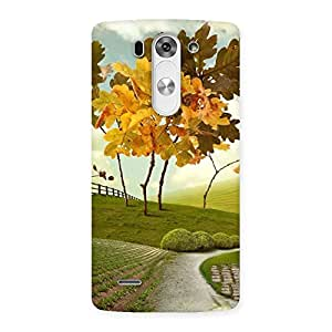 Cute Printed Way Back Case Cover for LG G3 Mini