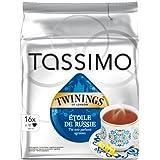 Tassimo Twinings Étoile de Russie, Schwarzer Tee, Mandarinen-, Orangen-, Grapefruit- Aroma, 16 T-Discs