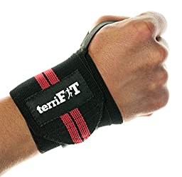 Wrist Wraps by terriFIT | Wrist Support Weightlifting (Medium-Duty) | Lifting Wrist Wraps With Thumb Loop 18"|256|248|?|en|2|87cc5d62b42a924c598275fbe9c4a268|False|UNLIKELY|0.3780990540981293