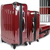 Vojagor - Set 3 pièces valise rigide en polycarbonate diverses couleurs (TRSE01)