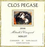 2008 Clos Pegase Merlot Mitsukos Vineyard Carneros - Napa Valley 750 mL