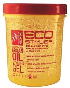 Eco Styler Gel de coiffure à base d'huile d'argan - 940 ml
