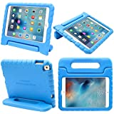 iPad Mini 4 Case, i-Blason Apple iPad Mini 4 Case for Kids [ArmorBox Kido Series] Light Weight Super Protection Convertible Stand Cover 2015 Release (Blue)