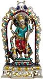 Exotic India Goddess Saraswati - Brass Statue