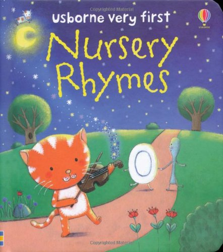 Nursery Rhymes (Usborne First Words Board Books)