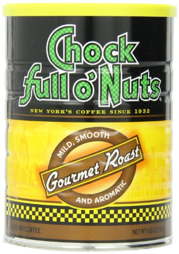 Chock Full O'Nuts Coffee Gourmet Roast Ground, 11 Ounce