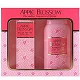 Apple Blossom by Apple Blossom Eau de Parfum Spray 100ml & Body Lotion 200ml