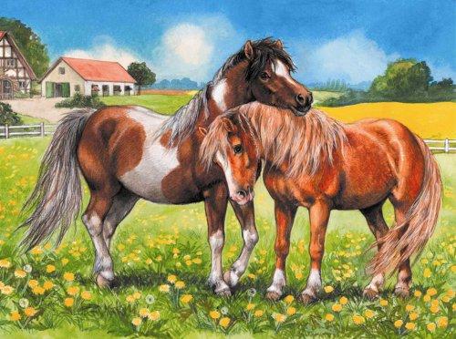Ponies Jigsaw Puzzle 35pc - 1