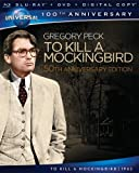 51a7mDybXdL. SL160  To Kill a Mockingbird 50th Anniversary Edition [Blu ray + DVD + Digital Copy]