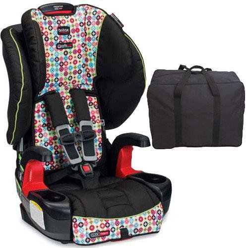 britax frontier g1 1 clicktight harness 2 booster car seat with travel bag kaleidoscope. Black Bedroom Furniture Sets. Home Design Ideas