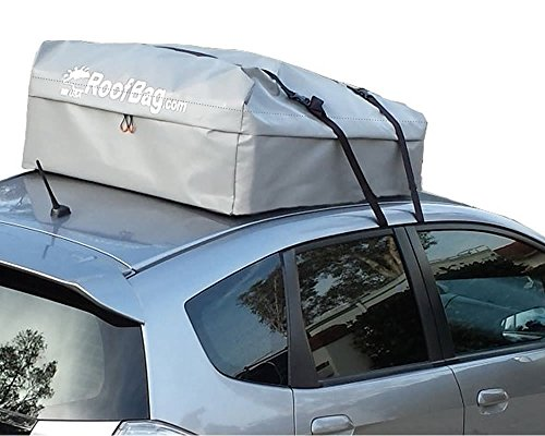 RoofBag Waterproof Carrier (No Rack Needed) For Car, Van, or SUV With Bare Roof - Heavy Duty - USA Made - Explorer Soft Car Top Carrier (Roof Rack Waterproof Bag compare prices)