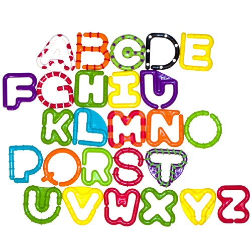 Sassy Letter Links Developmental Toy