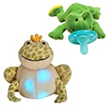 Cloud B Twinkling Firefly Frog with Infant Pacifier Green Frog