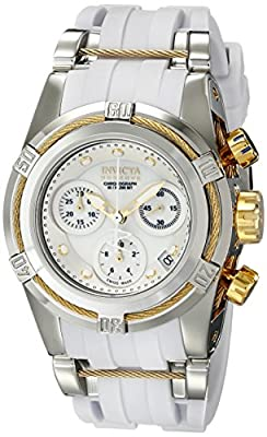 Invicta Women's 15279 Bolt Analog Display Swiss Quartz White Watch