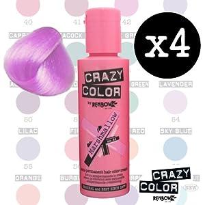 Renbow Crazy Color Semi Permanent Hair Color Cream Marshmallow No64 100ml A