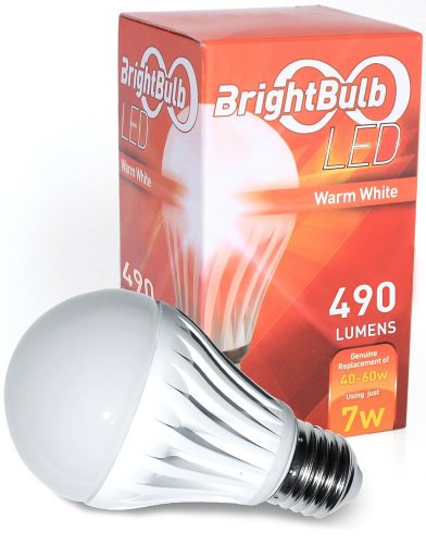 Led Light Bulb 7w Brightbulb Led Lightbulbs A19 High