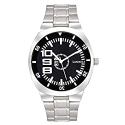 Laurels Polo 2 Analog Black Dial Mens Watch ( Lo-Polo-202)
