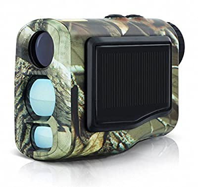 LaserWorks 600m Laser Rangefinder for Hunting Golf,Fog measurement,Waterproof,Solar Power from LaserWorks