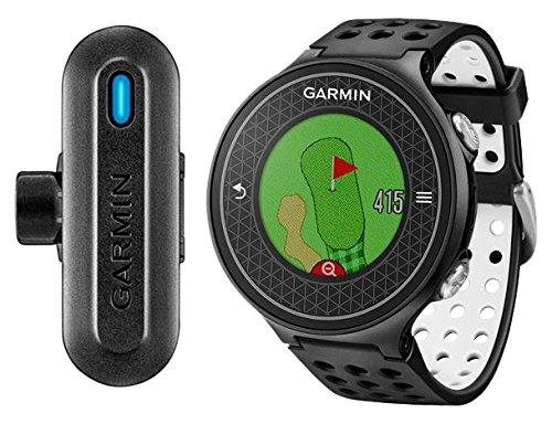 Garmin Approch S6/Truswing GPS de golf + analyseur de swing de golf Noir
