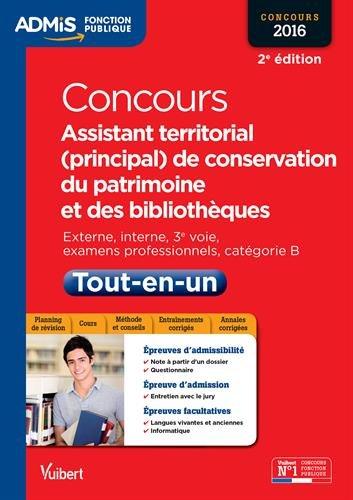 lire le livre en ligne  concours assistant territorial  principal  de conservation du patrimoine