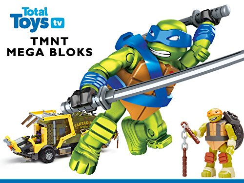 Teenage Mutant Ninja Turtles Mega Bloks Reviews - Season 1