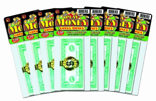 Ja-Ru Play Lots of Money Party Favor Bundle Pack