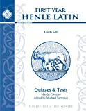 Henle Latin I Quizzes & Final Exam (Units I-II)