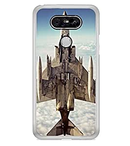 Fighter Plane 2D Hard Polycarbonate Designer Back Case Cover for LG G5 :: LG G5 Dual H860N :: LG G5 Speed H858 H850 VS987 H820 LS992 H830 US992