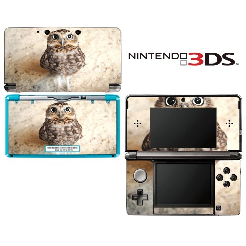 Hello! Baby Owl Decorative Video Game Decal Cover Skin Protector For Nintendo 3Ds (Not 3Ds Xl)