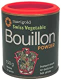 Marigold Swiss Vegetable Bouillon Powder 150 g (Pack of 6)