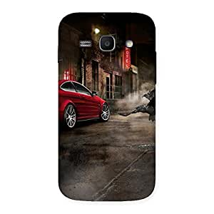 Impressive Red Car Impact Multicolor Back Case Cover for Galaxy Ace 3