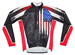 83 Sportswear Mens Fallen Warrior Cycling Jersey by 83 Sportswear