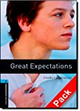 Bassett Jennifer Oxford Bookworms Library: Stage 5: Great Expectations Audio CD Pack: 1800 Headwords (Oxford Bookworms ELT)