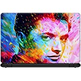 Defunk Elegant Color Splash Laptop skin for 13.3 inches Laptop, Compatible for Dell-Lenovo-Acer-HP-Vaio-Samsung Laptops [HD Print - Matte Lamination]