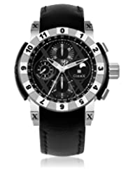 CODEX IDENTITY Chrono Moonphase Automatic Black Dial Men's Watch #4401.41.0101.L01