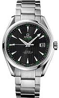 Omega Aqua Terra Chronometer Black Dial Stainless Steel Mens Watch 231.10.42.21.01.001 from Omega