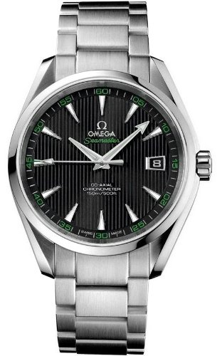 Omega Aqua Terra Chronometer Black Dial Stainless Steel Mens Watch 231.10.42.21.01.001