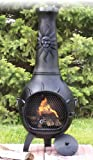 The-Blue-Rooster-Cast-Iron-Sun-Stack-Chiminea