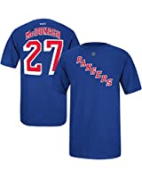Ryan McDonagh New York Rangers Jersey Name and Number T-Shirt