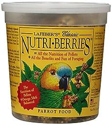 Lafeber Company Nutri-Berries Parrot Pet Food, 12-Ounce