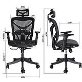 ANCHEER Mount Ergonomic Black Mesh Computer Office Chair Shipped from DE-Testing reports for BIMFA(AN-EC003-Black)